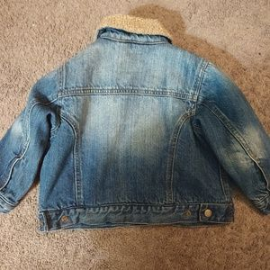 1989 Place Jackets & Coats - Boy/girl 1989 PLACE jean jacket with plush lining